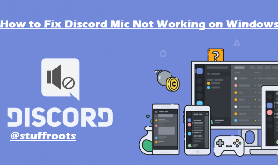 How to Fix Discord Mic Not Working on Windows [FIXED]