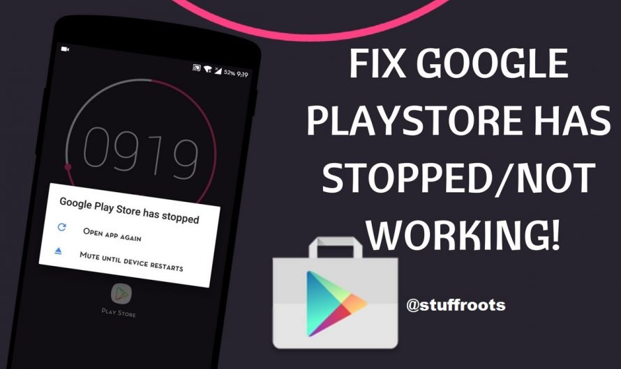 How to Fix Google Play Services has Stopped Working